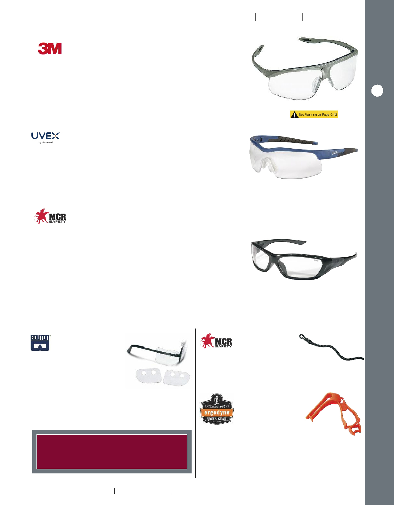 3d5e946b93 S afety g laSSeS – premium a cceSSorieS E yE P rOtEctiOn. 3m ™ maxim ™  Sport Protective eyewear